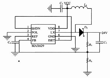 图4 升压电路图