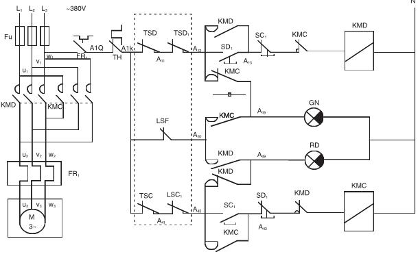 dkz型电动执行机构控制电路图
